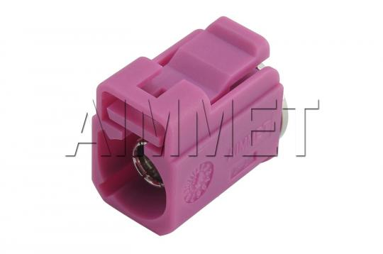FAKRAaimmet®_FAKRA SMB ST. F. CONNECTOR (H CODE) WITH WATERPROOF CAP - 3699NTG00H1