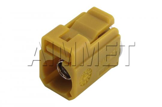 FAKRAaimmet®_FAKRA SMB ST. F. CONNECTOR (K CODE) WITH WATERPROOF CAP - 3699NTG00K1